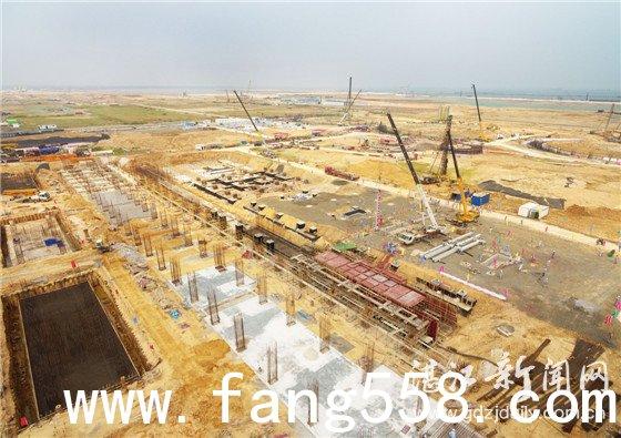 """中科炼化动力站启动设备安装 动力站将肩负全厂""""水电风汽""""供给"""