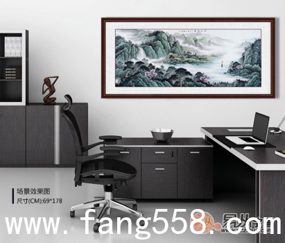 适合挂在办公室的画影响前程的办公室挂画