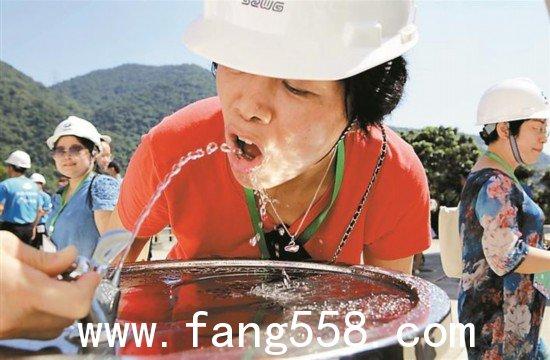 盐田在深圳率先实现全区自来水直饮拧开水龙头就敢放心喝