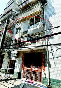 花35万买小产权房 还没入住阳台就垮了